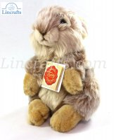 Soft Toy Brown Bunny Rabbit by Teddy Hermann (20 cm) 93779
