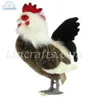 Soft Toy Bird, Rooster by Hansa (43cm) 4170