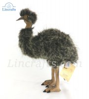 Soft Toy Bird, Emu by Hansa (38cm)