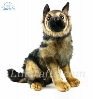 Soft Toy German Shepherd Pup by Hansa 41 cm.H