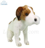 Soft Toy Jack Russel Terrier by Hansa (30cmH.) 5908