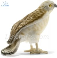 Soft Toy Bird of Prey, Falcon by Hansa (22cm)