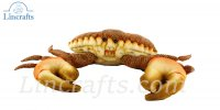Soft Toy Sea Creature Orange Crab by Hansa (35cmL) 6312