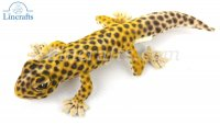 Soft Toy Leopard Gecko by Hansa (26cm) 8140
