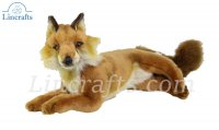 Soft Toy Red Fox by Hansa (40cmL) 6087