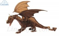Soft Toy Dragon by Hansa (45cm) 4929