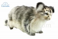 Soft Toy Pallas Cat Standing by Hansa 30cm