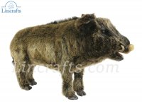 Soft Toy Wild Boar by Hansa (63cm) 4091