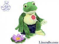 Soft Toy Frog by Teddy Hermann (28cm) 92028