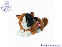 Soft Toy Tabby Cat by Teddy Hermann (20cm) 90690