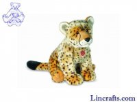 Soft Toy Wildcat, Cheetah by Teddy Hermann (50cm) 90454