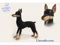 Soft Toy Doberman by Hansa (39cm)