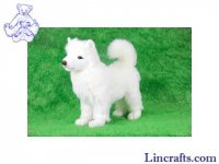 Soft Toy Samoyed by Hansa (41cm)