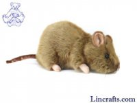 Soft Toy Rodent, Rat by Hansa (25cm)