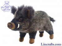 Soft Toy Wild Boar by Hansa (32cm) 2830