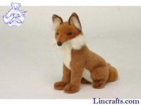 Soft Toy Fox by Hansa (28cm) 2923
