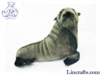 Soft Toy Water Creature, Fur Seal by Hansa (28cm)