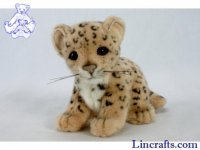 Soft Toy Wildcat, Leopard by Hansa (18cm)
