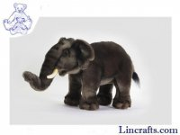 Soft Toy Elephant (Asian) by Hansa (29cm) 3482