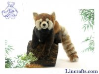 Soft Toy Red Panda Sitting by Hansa 75cm