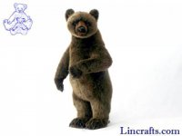 Soft Toy Grizzly Bear by Hansa (66cm)
