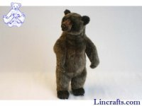 Soft Toy Grizzly Bear by Hansa (50cm)
