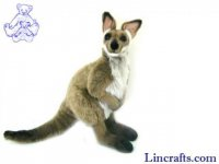Soft Toy Wallaby by Hansa (36cm)