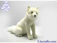 Soft Toy Arctic, Snow Fox by Hansa (40cm)