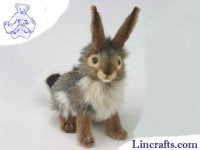 Soft Toy Jack Rabbit, Hare by Hansa (23cm) 3754