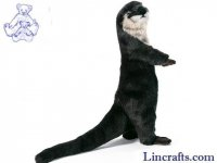 Soft Toy Otter by Hansa (24cm) 3814