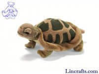 Soft Toy Tortoise by Hansa (15cm)
