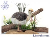 Soft Toy Bird, Ostrich by Hansa (38cm)