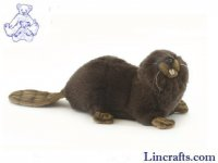 Soft Toy Beaver by Hansa (20cm) 3838