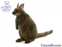 Soft Toy Marsupial, Wallaby by Hansa (40cm)