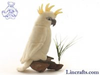 Soft Toy Bird, Cockatoo by Hansa (22cm)