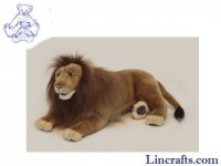 Soft Toy Wildcat, Lion by Hansa (43cm)