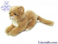 Soft Toy Wildcat, Lion by Hansa (26cm)