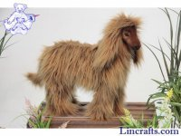 Soft Toy  Dog, Afghan Hound by Hansa (40cm)