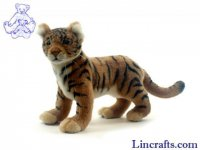 Soft Toy Wildcat, Tiger by Hansa (34cm) 4264