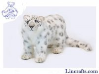 Soft Toy Wildcat, Snow Leopard by Hansa (65cm)