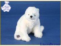 Soft Toy Polar Bear by Hansa (30cm) 4281