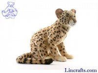 Soft Toy Wildcat, Leopard by Hansa (48cm)