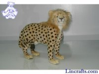 Soft Toy Wildcat, Cheetah by Hansa (50cm)