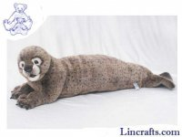 Soft Toy Harbour Seal by Hansa (90cm)