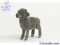 Soft Toy Lamb Black by Hansa (17cm)