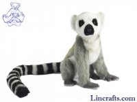 Soft Toy Ring-Tailed Lemur by Hansa (22cm)