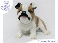 Soft Toy Bulldog 19cm