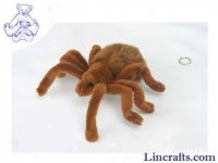Soft Toy Arachnid, Brown Tarantula Spider by Hansa (19cm)