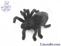 Soft Toy Tarantula Black by Hansa (19cm) 4729