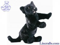 Soft Toy Wildcat, Panther by Hansa (38cm)